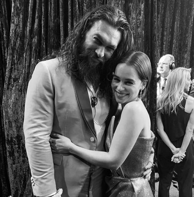 GAME OF THRONES 'Couple' Jason Momoa And Emilia Clarke