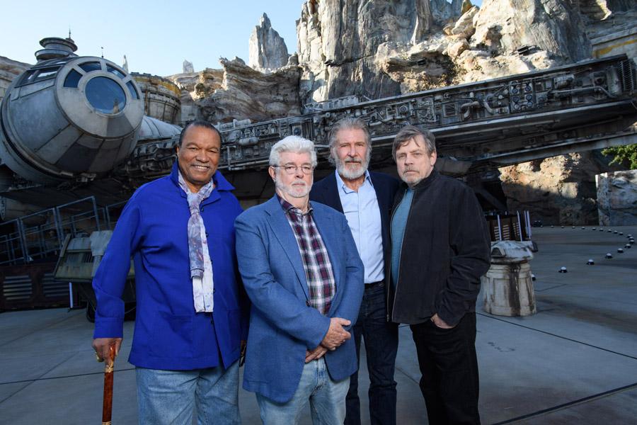 star wars galaxy's edge ceremony
