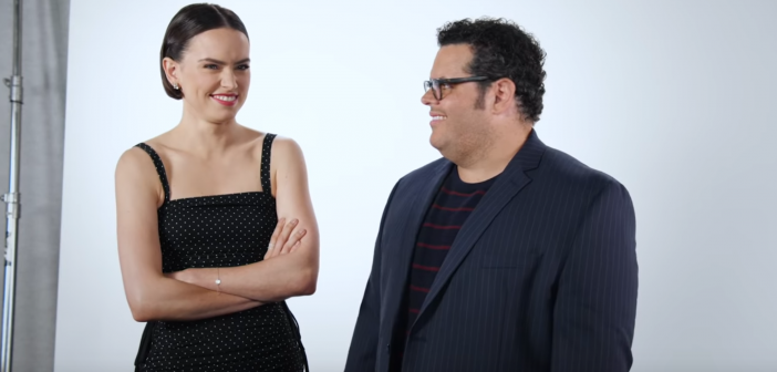 Hilarious THE RISE OF SKYWALKER Video Stars Josh Gad and Daisy Ridley